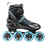 Roces Damen Helium Women TIF Inline Skates, Black-Azure, 36