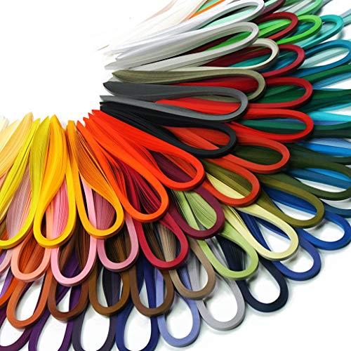 JUYA Papier Quilling Sets von Tant 72 Farben und 72 Packungen, Papierbreite: 3mm