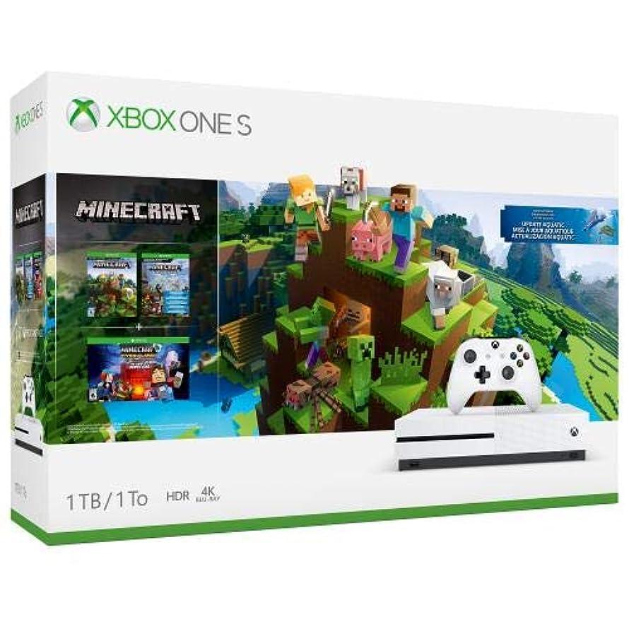 Xbox One S 1TB Console – Minecraft Bundle