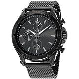 Joseph Abboudブラックダイヤルステンレススチールメンズ腕時計ja3192bk648–003