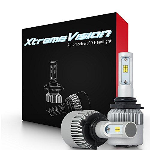 Xtremevision 7G 72W 16,000LM - 9006 LED Headlight Conversion Kit - 6500K CSP LED - 2019 Model