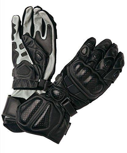 Modeka Racing Pro Handschuhe 11 Schwarz/Grau