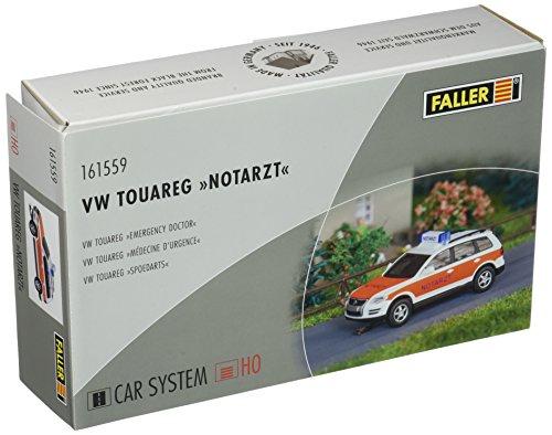 Faller fa161559 – VW Touareg Médecin d'urgence WIKING, Accessoires pour Le modèle ferroviaire, modèle Construction