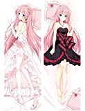 OPO-T Anime Vocaloid Megurine Luka Dakimakura Hugging Body Pillow Case Cover 50x137cm (20X54 Inch)