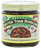 Betterthan Bouillon-Vegetable Base Organic, 8-Ounce (Pack of 3)...