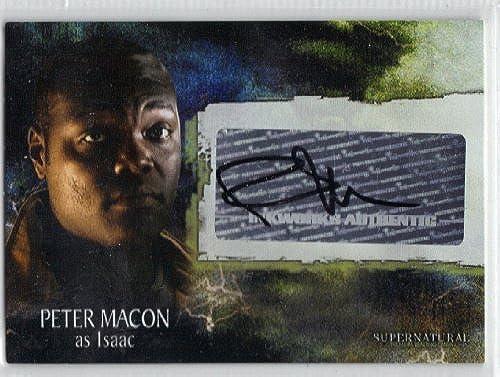Supernatural Season 3 Isaac Autograph Trading Card A-28 by Inkworks