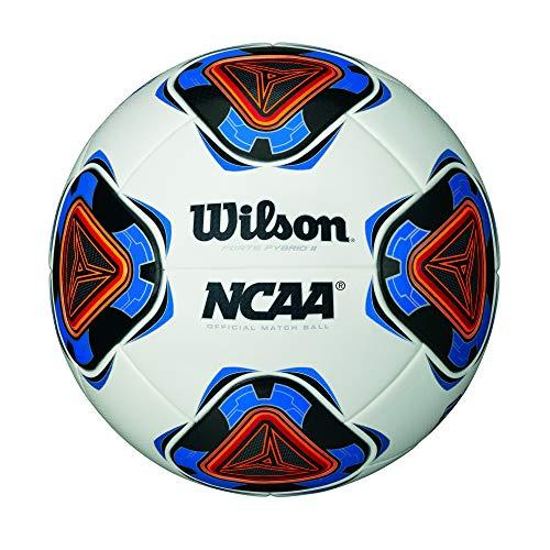 Wilson NCAA Forte Fybrid II Soccer Cup Game Ball - White/Blue