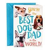 Hallmark Funny Father's Day Card From Dog (Best Dog Dad)