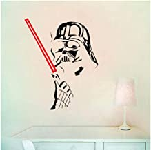 Star Wars Darth Vader Silhouette Wall Decal Home Decor Black VA8551N-BP2