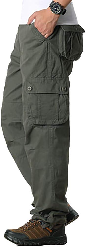 Raroauf Men's Cargo Shorts Lightweight Casual Twill Shorts with Multi Pocket