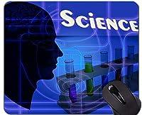 化学科学の賭博のマウスパッドの習慣、ステッチされた端が付いているヘッドマウスパッド