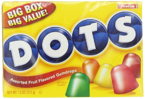 Tootsie Dots Assorted Flavors, 7.5000-Ounces (Pack Of 12)