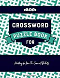 Crossword Puzzle Book for Waiting In Line For Concert Tickets