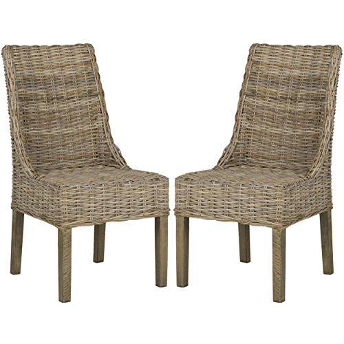 Safavieh Home Collection Suncoast Brown Dining Chair