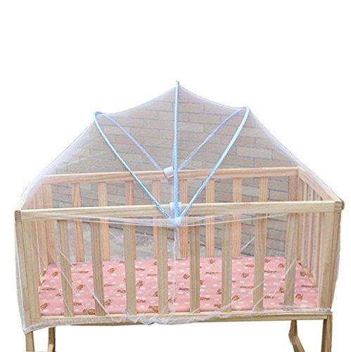 1 moustiquaire universelle pour lit de bébé Bluelans® - Couleur aléatoire