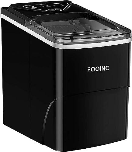 Machine à glaçons FOOING Machine à glaçons Machine à glaçons Comptoir prêt en 6 minutes Machine à glaçons 2L avec cui...