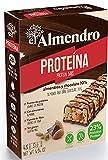 El Almendro - Barritas de Almendra con Proteína y Chocolate - 4 Unidades