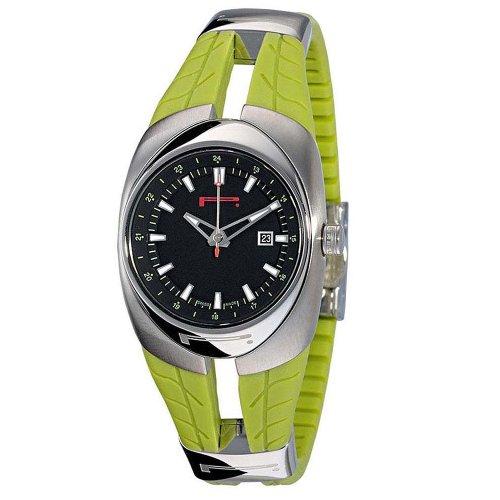 PIRELLI R7951101865–Uhr für Frauen, Gummi-Armband Grün