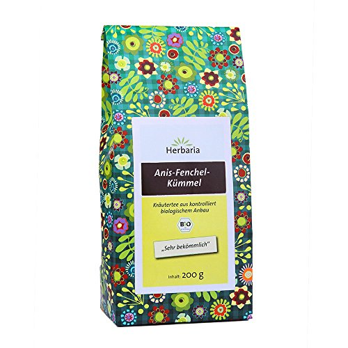HERBARIA - Anis-Fenchel-Kümmel-Tee bio - 200 g