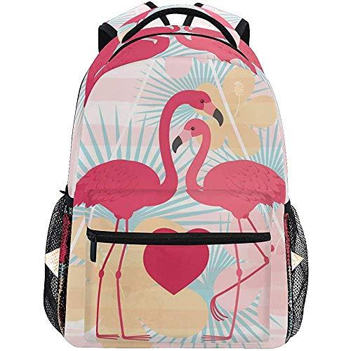 Rugzak San Valentino Fenicotteri roze rugzak voor laptop rugzak schoudertas voor reizen teens rugzak dames daypack