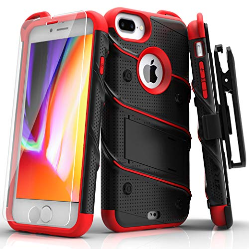ZIZO Bolt Series for iPhone 8 Plus Case Military Grade Drop Tested...