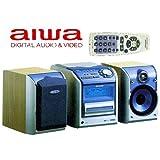 Aiwa XR de m 301R monobloque de HiFi compacto con dos altavoces
