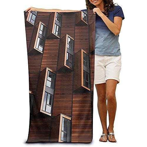 utong Toallas de Playa 100% algodón 80x130cm Toalla de Secado rápido para Nadadores Art Abstract Beach Blanket