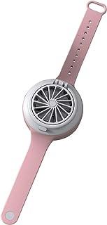 Ventilador personal ultra silencioso de tercera velocidad de engranaje eléctrico Mini reloj ventilador creativo USB de carga ventilador portátil para niños