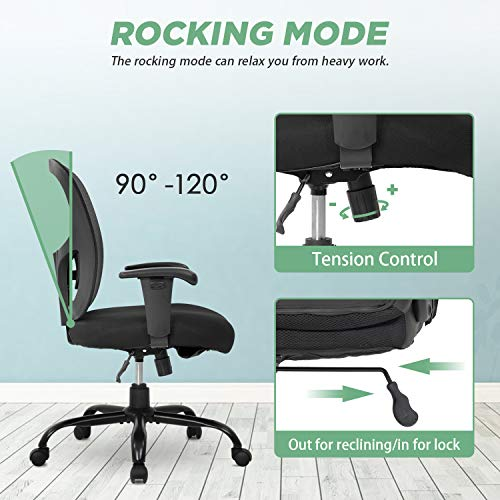 Big and Tall Office Chair 400lbs Desk Chair