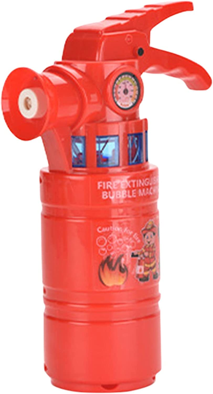 Large discharge sale Simulation Fire Extinguisher Bubble Machine 100ML Dallas Mall M with Light