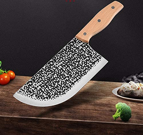 Meat Cleaver Handmade Shipping included Stainless Steel Knife New sales Chef Vegetab Serbian