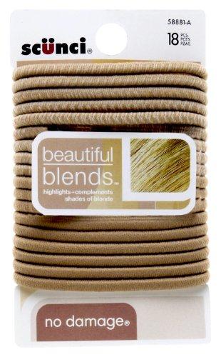 Scunci Beautiful Blends Hair Ties ~3 Pack