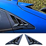 Rifoda 新型ホンダ シビック civic 10代目 hatchback TYPE R ハッチバック FK7 FK8 ブラインド装飾 2016~仕様変更 2P【ピアノブラック】
