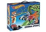 Hot Wheels- Cobra Speed Circuito Slot, Color único (Fábrica de Juguetes 91009)
