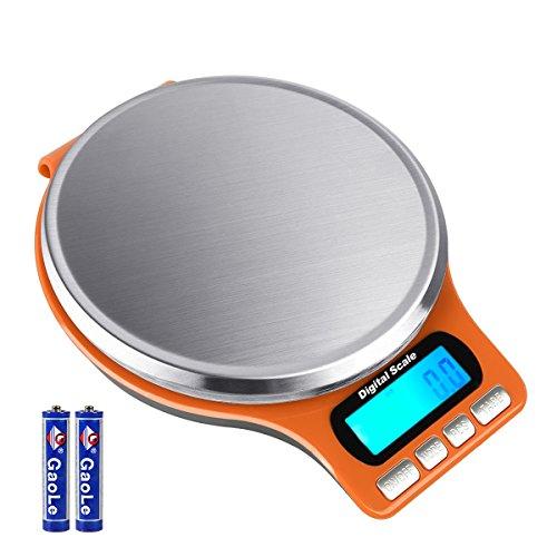 Aocerbek Balances de Cuisine Numériques 11lb/5kg...