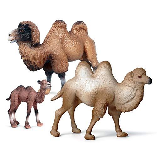 Absir Kinder simulieren die Tierform, die Erkennungs-Spielzeug-Inneneinrichtung modelliert Kamel (3 Anzüge)