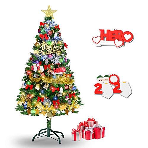 クリスマスツリー 150cm christmas tree おしゃれ 高級クリスマスツリー 北欧風 組立簡単 収納便利 クリスマス オーナメント クリスマスグッズ LEDイルミネーションライトクリスマス飾りプレゼント クリスマスグッズ 商店 部屋