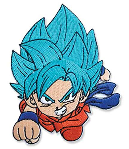 Great Eastern Entertainment Dragon Ball Super SSGSS Goku Patch 3.5-inch Official Licensed