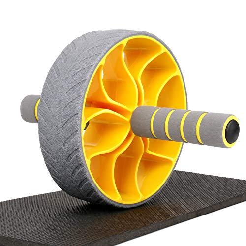 XGEAR 腹筋ローラー アブホイール 筋トレ 超静音 エクササイズローラー アブローラー マット付き