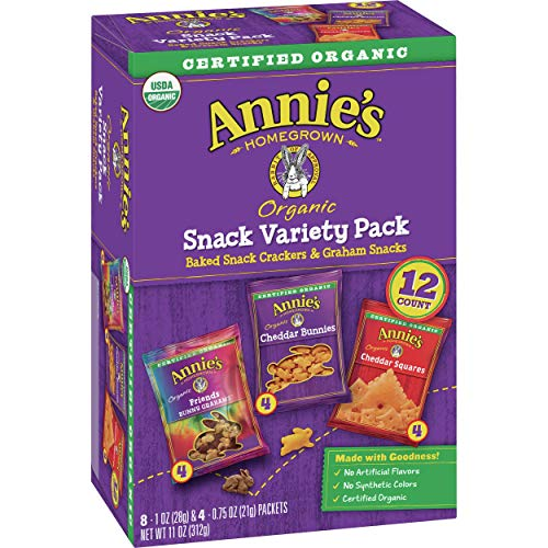12-Ct Annie's Variety Snack Pack  $2.80 at Amazon