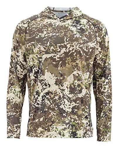 Simms Solarflex UPF 50+ Shirt, Long Sleeve, River Camo, Small