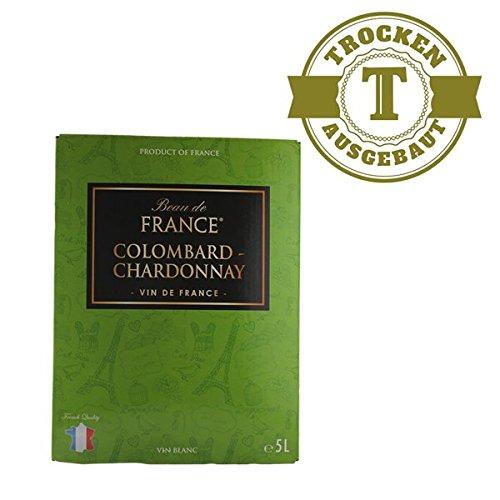 Weißwein Frankreich Colombard-Chardonnay Bag in Box trocken (1x5L)