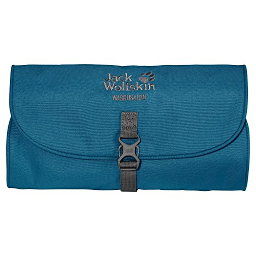 Jack Wolfskin, Beauty case Waschsalon, Blu (Moroccan Blue), 1 Litro