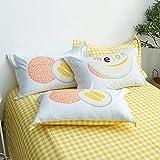 Xiaomizi Sábanas de algodón puro, ropa de cama de una sola pieza, sábana de 1,8 m