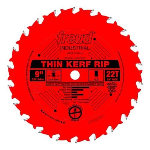 Freud 9' x 22T Thin Kerf Rip Blade (LU87R009)
