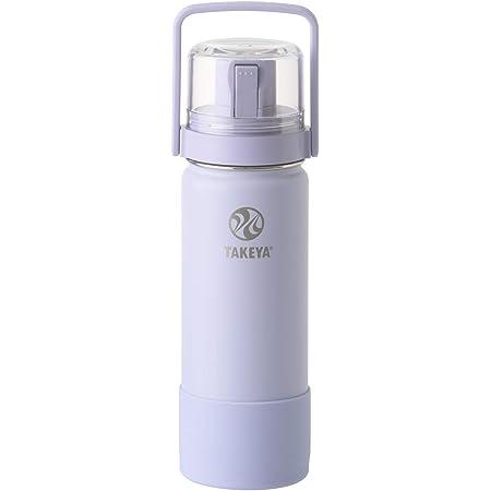 TAKEYA(タケヤ) タケヤフラスク ゴーカップ (0.52L ソフトパープル) コップ付き 子供 水筒 ステンレスボトル