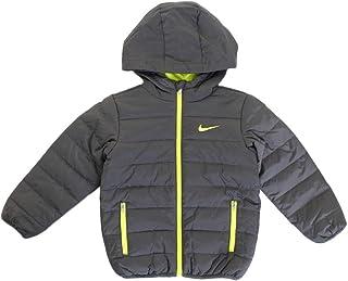 Nike Kids Boy's Quilted Jacket (Little Kids) Dark Gray 6