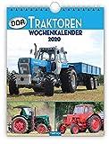 Wochenkalender ' DDR-Traktoren' 2020: 19 x 25 cm, mit Bildern von Ralf-Christian Kunkel