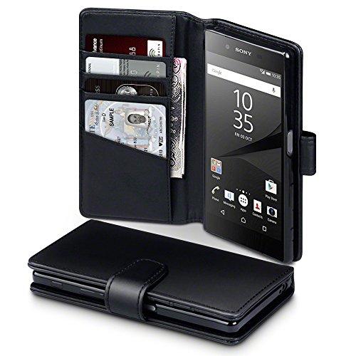 Funda de cuero para Sony Xperia Z5