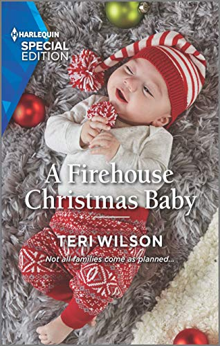 A Firehouse Christmas Baby (Lovestruck, Vermont Book 2)